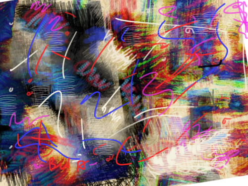 Abstract digital art
