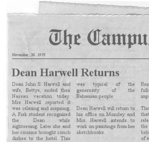 Newspaper format from website